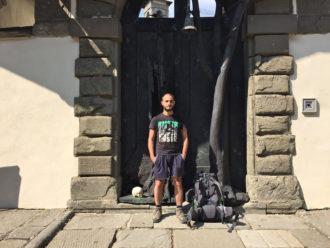 Elia Tazzari all'eremo di Camaldoli