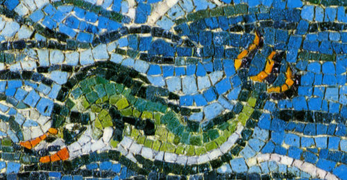Mosaico Pesce RavennaAntica