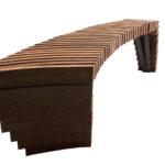 Tavolino Arche, di Libeskind