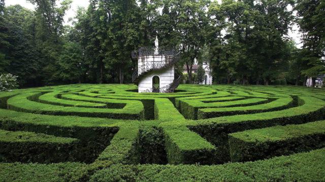 Labirinto, Villa Pisani , Stra