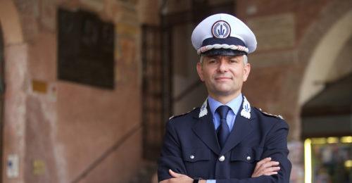 RAVENNA 14/07/17. ANDREA GIACOMINI, NUOVO COMANDANTE POLIZIA MUNICIPALE DI RAVENNA