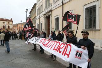 Manifestazione Simboli Fascisti