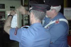 I carabinieri mettono i sigilli al bar