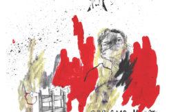Pagliani(Uno Sguardo) Acrilico, Pastelli A Olio, Grafite E Collage Su Carta, 18x18cm, 2017