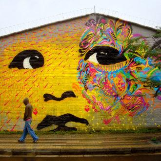 Un Murale Di Stinkfish
