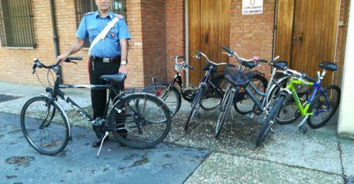 Le biciclette rubate