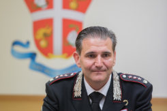 RAVENNA 23/09/17. CARABINIERI, Comandante Provinciale Col T. SFP Roberto DE CINTI.