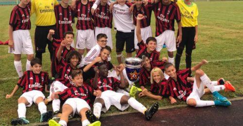 Esultanza Milan Ravenna Top Cup