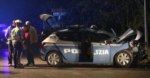 RAVENNA 16/09/2017. INCIDENTE A LIDO ADRIANO, MORTI DUE POLIZIOTTI