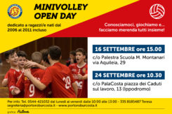 Locandina Open Day Minivolley
