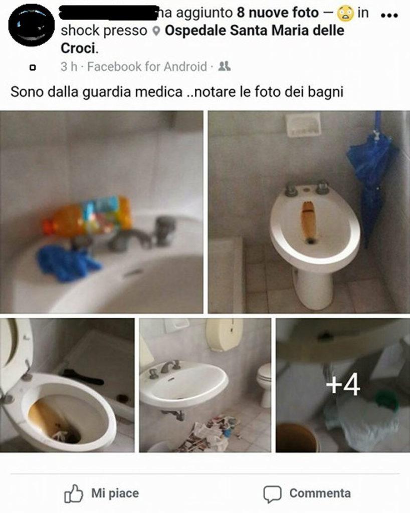 Bagni Ospedale Ravenna