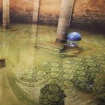Installazione acqua mosaico