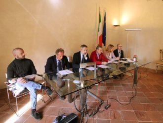 Conferenza Stampa Del 25 Ottobre 2017, Salone Estense Della Rocca Di LUgo