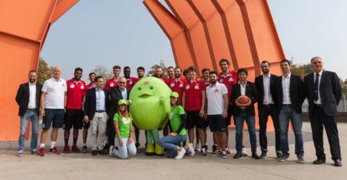La presentazione dell'OraSì Basket Ravenna
