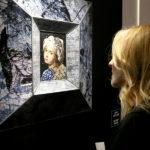 La vernice per la stampa della mostra dedicata a Sicis