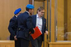 Ravenna 10/10/2017. FEMMINICIDIO GIULIA BALLESTRI. Iniziato Il Processo Che Vede Imputato Matteo Cagnoni Accusato Dell' Omicidio Della Moflie Giuglia Ballestri.