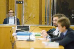 Ravenna 10/10/2017. FEMMINICIDIO GIULIA BALLESTRI. Iniziato Il Processo Che Vede Imputato Matteo Cagnoni Accusato DellÕ Omicidio Della Moflie Giuglia Ballestri.