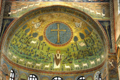 The Apse Mosaic At Sant'Apollinare In Clase