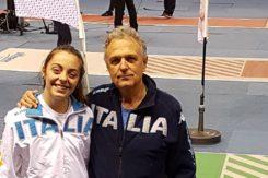 Sara Billi Con Il Maestro Guido Marzari (2)