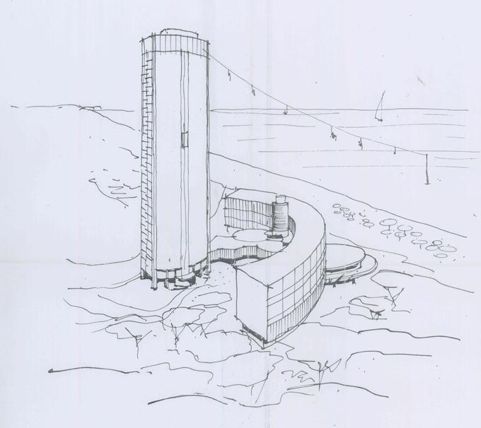 Schizzo Grattacielo Ala Berardi