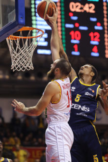 RAVENNA 3/12/2017. LNP Serie A2 Decima Giornata OraSì Basket Ravenna VS Tezenis Verona.