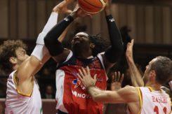 RAVENNA 23/12/2017. LNP Serie A2 Tredicesima Giornata OraSì Basket Ravenna VS Dinamica Generale Mantova.