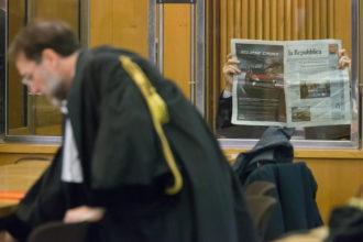 RAVENNA 19/01/2018. PROCESSO CAGNONI PER L' OMICIDIO DI GIULIA BALLESTRI.