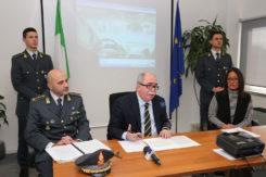 RAVENNA 12/01/2018. CONFERENZA STAMPA IN PROCURA PER L' ARRESTO DI 2 FUNZIONARI DI HERA.