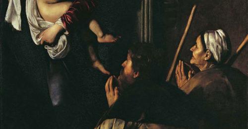 1 Caravaggio Madonna Dei Pellegrini RID Copia.