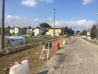 Cantiere, lavori in corso lugo