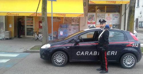 Conad Solarolo Carabinieri