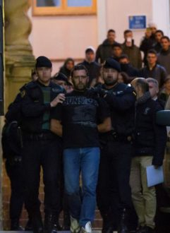 Serbian Natioanl Accused Of Killing Two Civil Guards And A Civilian