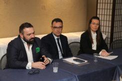 RAVENNA 03/02/2018. PINI PRESENTA ALBERGHINI E GARDIN CANDIDATI DELLA LEGA NORD ALLE POLITICHE 2018.