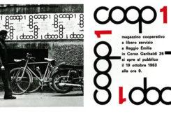 Manifesto Apertura Primo Magazzino Cooperativo A Libero Servizio A Reggio Emilia 1963