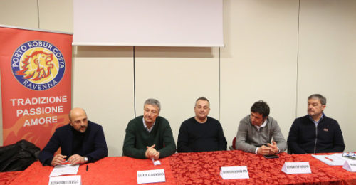 VOLLEY PALLAVOLO. CONFERENZA STAMPA BUNGE PORTO ROBUR COSTA