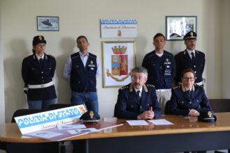 RAVENNA 24/04/18. QUESTURA DI RAVENNA. Polizia, Conferenza Stampa Per La Cattura Rapinatore