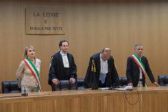 RAVENNA 18/06/2018.PROCESSO CAGNONI PER L' OMICIDIO DI GIULIA BALLESTRI