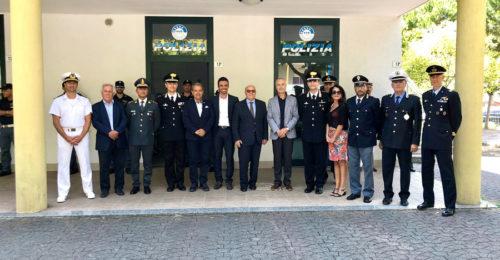RAVENNA 20/07/2018. INAUGURATO POSTO DI POLIZIA CERVIA
