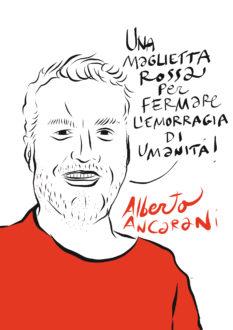 Ancarani Maglietta Rossa Costantini