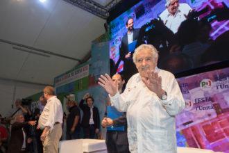 """RAVENNA 30/08/2018. FESTA NAZIONALE DE L' UNITA' José """"PEPE"""" Mujica"""