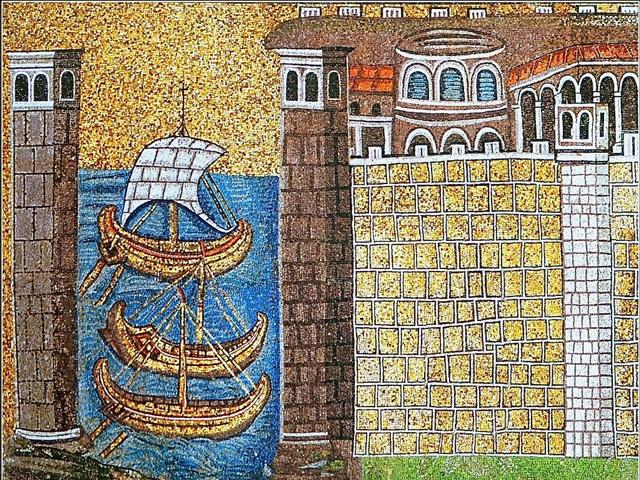 Citta Mosaico S Apollinare Nuovo
