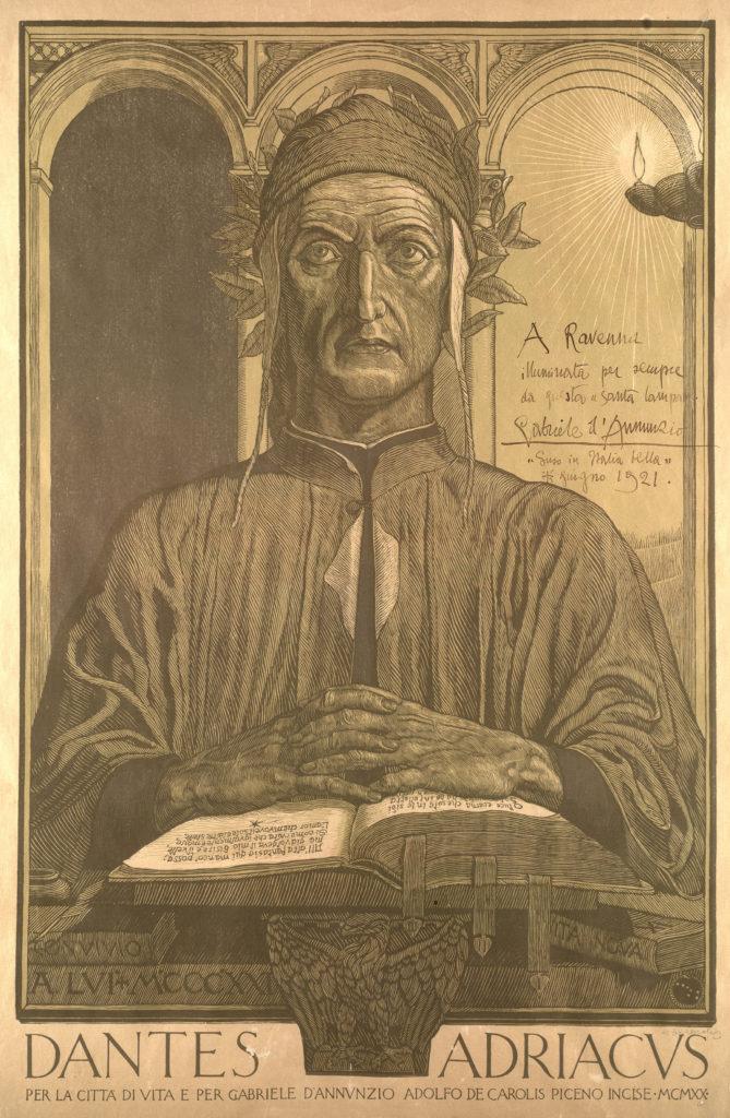 Dantes Adriacus Adolfo De Carolis