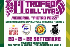 Locandina Trofeo Dell'Uva Vetri