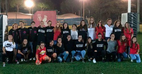 Progetto Romagna RFC Femminile Foto Di Gruppo Alla Presentazione