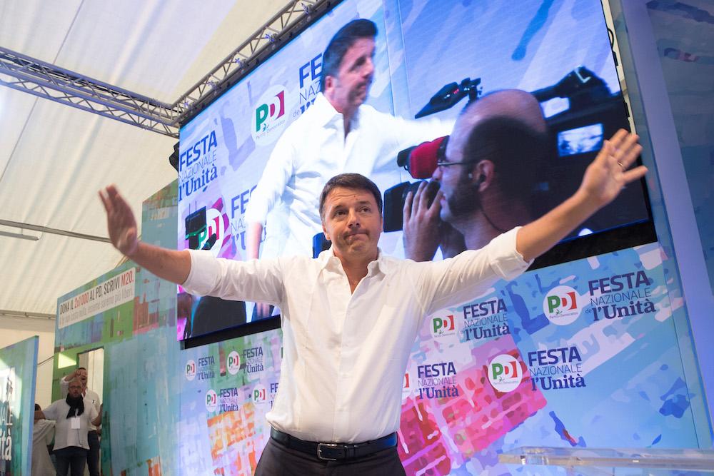 RAVENNA 06/09/2018. FESTA NAZONALE DE L' UNITA'. Il Futuro Del Paese, Matteo Renzi