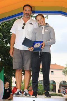 Sofia Collinelli Premiata Con Papa Andrea