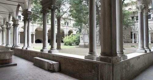 Chiostro Abbazia San Vitale