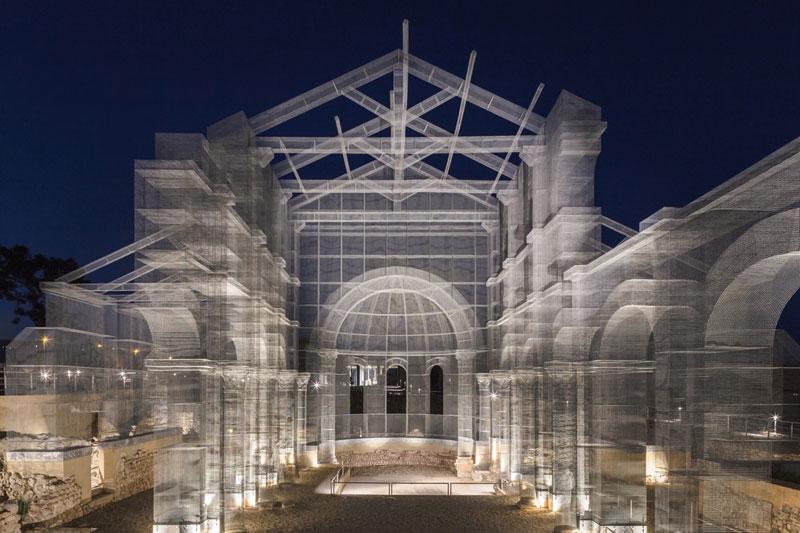 Edoardo Tresoldi Basilica Di Siponto © Roberto Conte #1