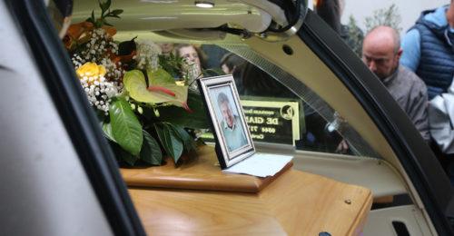 RAVENNA 29/10/2018. TRAGEDIA CHIUSA SAN BARTOLO Funerale Di Danilo Zavatta