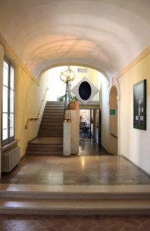 Classense Scala Ammezzato Restauro Bardeschi